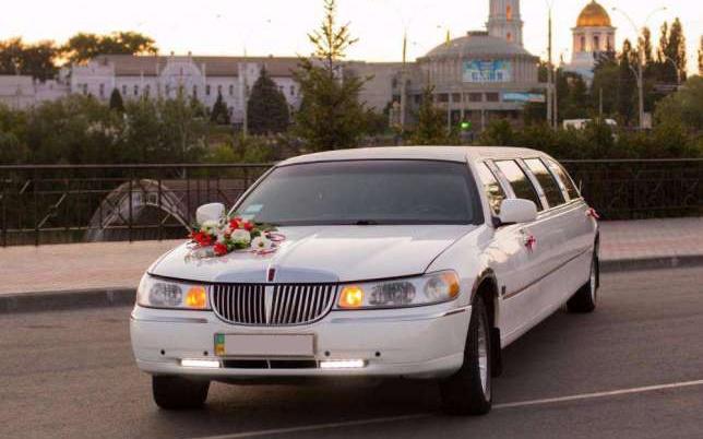 аренда авто Lincoln Town Car на свадьбу