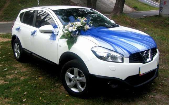 аренда авто Nissan Qashqai на свадьбу