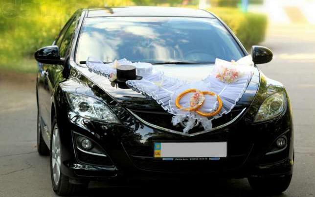 аренда авто Mazda 6 на свадьбу
