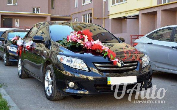 аренда авто Toyota Corolla на свадьбу