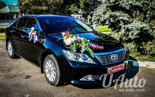 аренда авто Toyota Camry 50 в Киеве