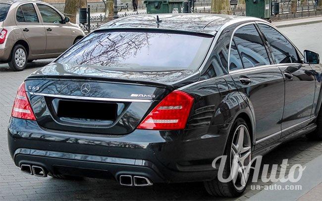аренда авто Mercedes S-Class W221 AMG в Киеве