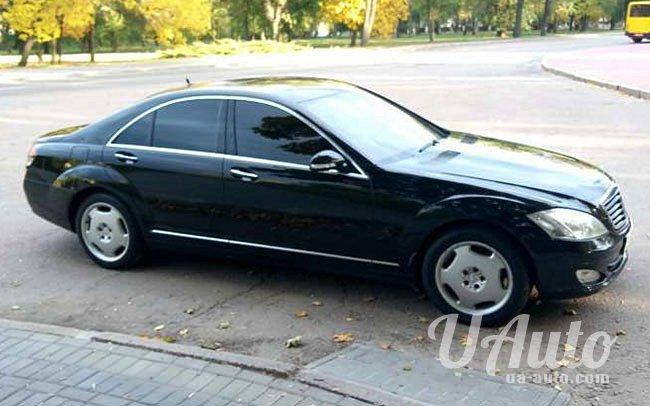 аренда авто Mercedes S-Class W221 в Киеве