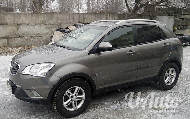 аренда авто SsangYong Korando в Киеве