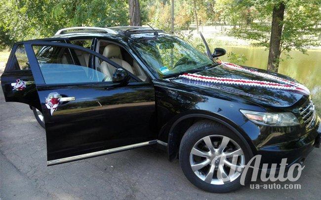 аренда авто Infinity FX35 в Киеве