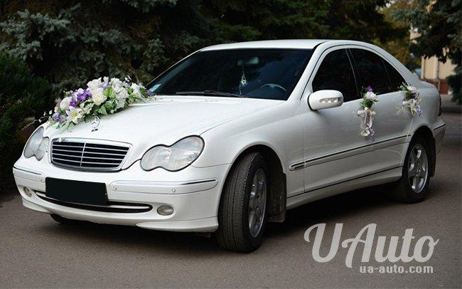 аренда авто Mercedes C-Class W203 в Киеве