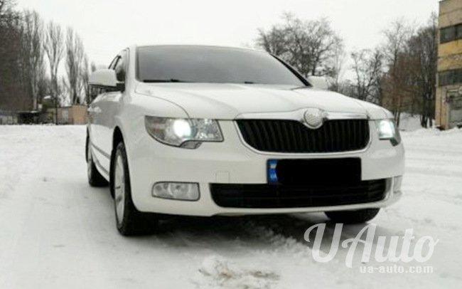 аренда авто Skoda SuperB в Киеве
