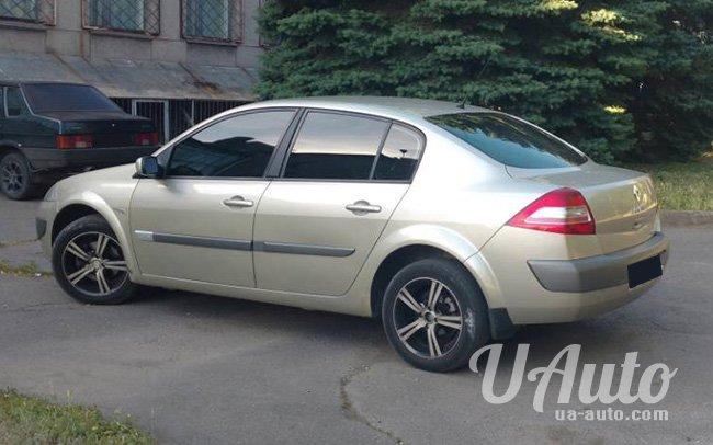 аренда авто Renault Megane Sedan в Киеве