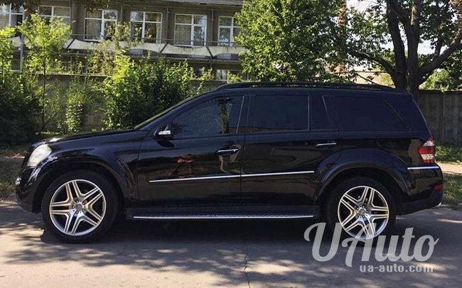 аренда авто Mercedes GL AMG в Киеве