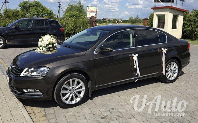 аренда авто Volkswagen Passat B7 в Киеве