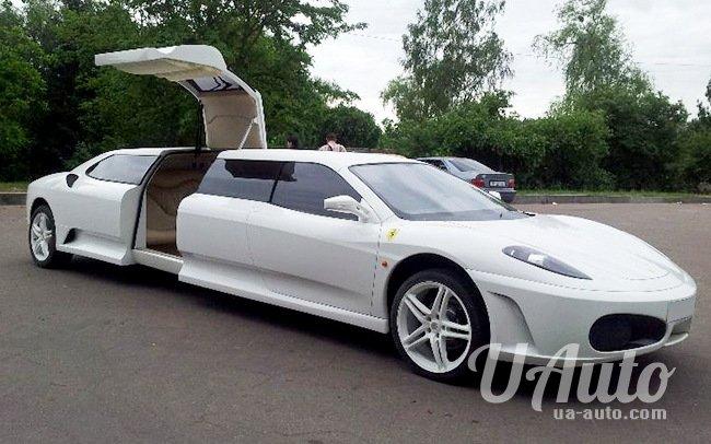 аренда авто Лимузин Ferrari 430 в Киеве