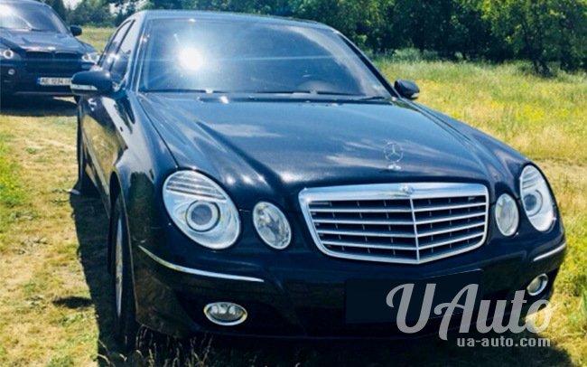 аренда авто Mercedes E-Class W211 в Киеве