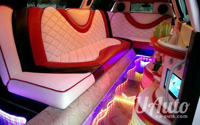 аренда авто Лимузин Mercedes W221 в Киеве