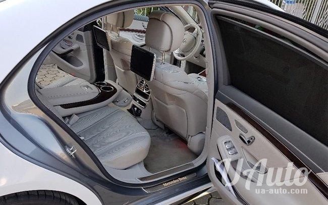 аренда авто Mercedes S-Class W222 в Киеве
