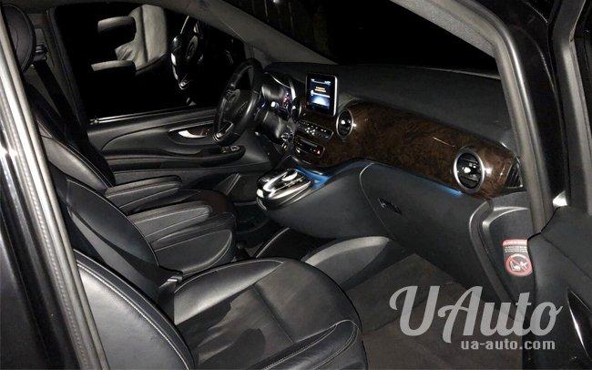 аренда авто Mercedes V-Class в Киеве