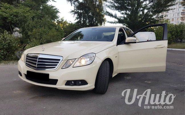 аренда авто Mercedes W212 в Киеве