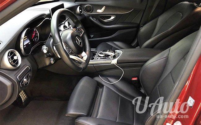 аренда авто Mercedes C300 W205 в Киеве