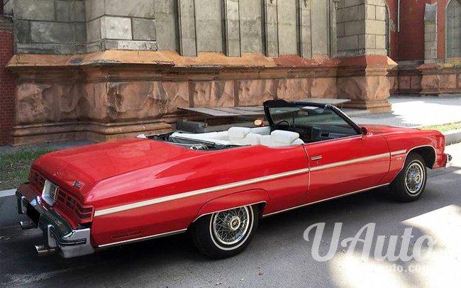 аренда авто Кабриолет Chevrolet Impala в Киеве
