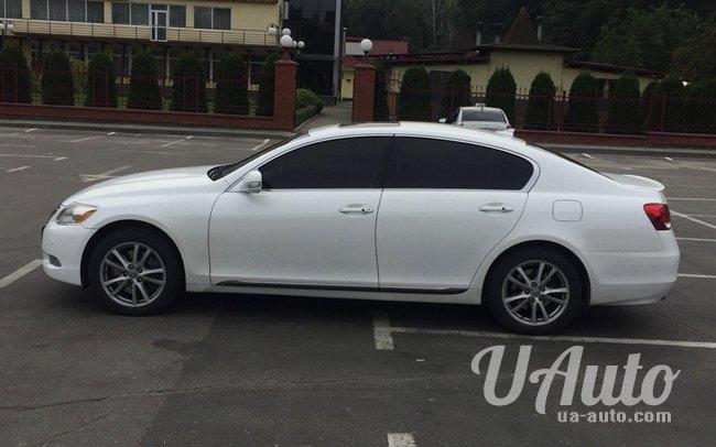 аренда авто Lexus GS 350 в Киеве
