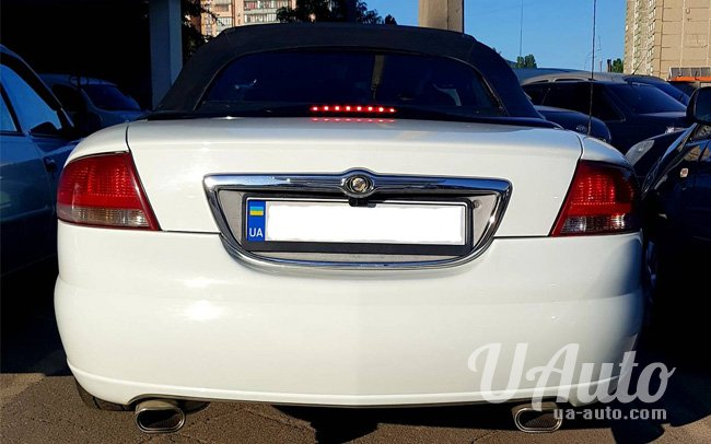 аренда авто Chrysler Sebring Convertible в Киеве