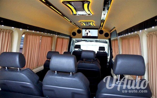 аренда авто Mercedes Sprinter VIP в Киеве