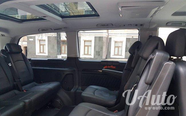 аренда авто Mercedes Viano Long в Киеве