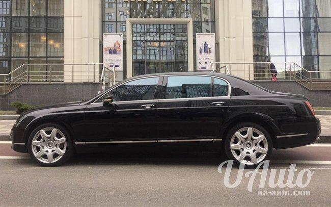аренда авто Bentley Continental Flying Spur в Киеве