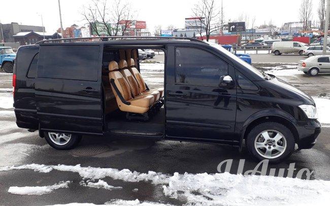 аренда авто Mercedes Vito Extra Long в Киеве