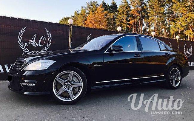 аренда авто Mercedes S-Class W221 AMG Long в Киеве