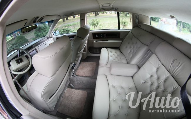 аренда авто Cadillac Fleetwood в Киеве