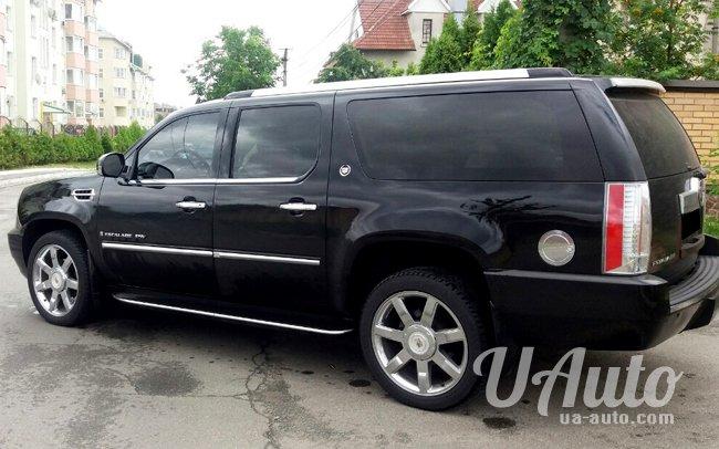 аренда авто Cadillac Escalade Long в Киеве
