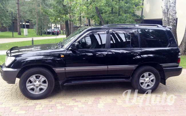 аренда авто Toyota Land Cruiser 100 в Киеве