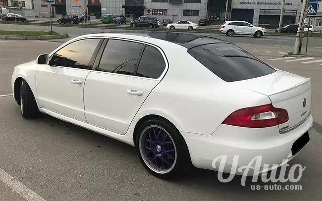 аренда авто Skoda Superb NEW в Киеве