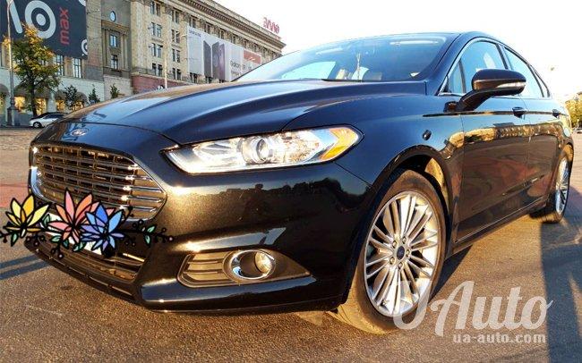аренда авто Ford Fusion в Киеве