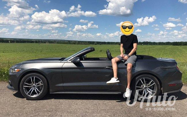 аренда авто Ford Mustang Кабриолет в Киеве