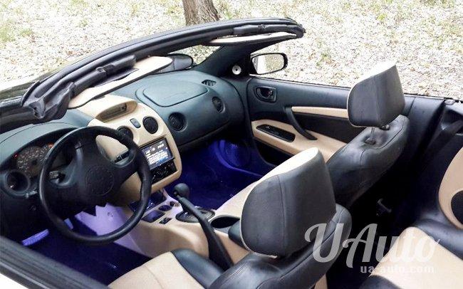 аренда авто Mitsubishi Eclipse Spyder Кабриолет в Киеве