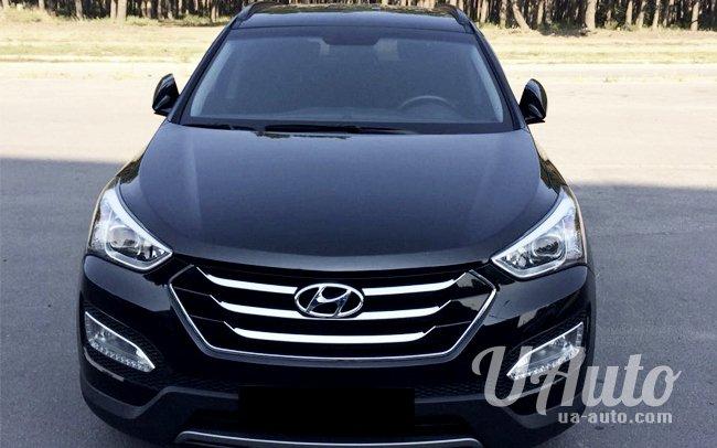 аренда авто Hyundai Santa Fe в Киеве