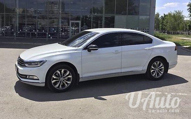 аренда авто Volkswagen Passat B8 в Киеве