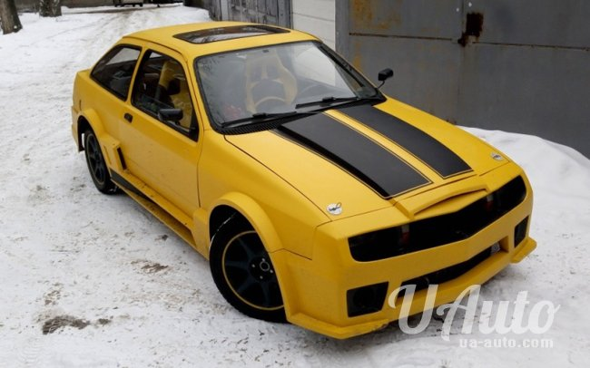 аренда авто Ford Transformer Bumblebee в Киеве