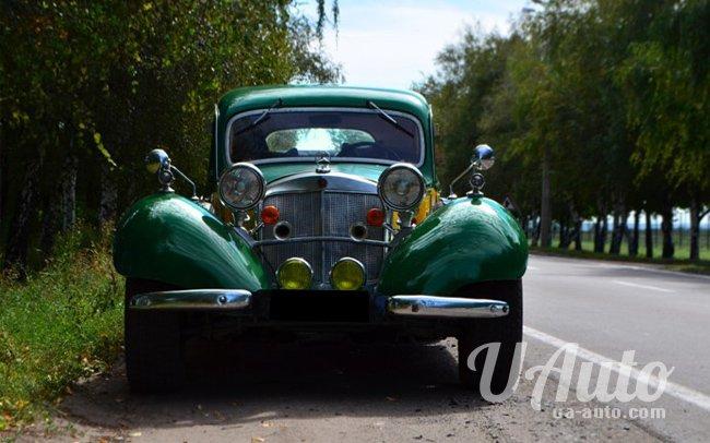 аренда авто Ретро Mercedes в Киеве