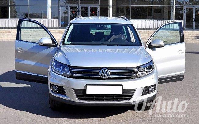 аренда авто Volkswagen Tiguan в Киеве