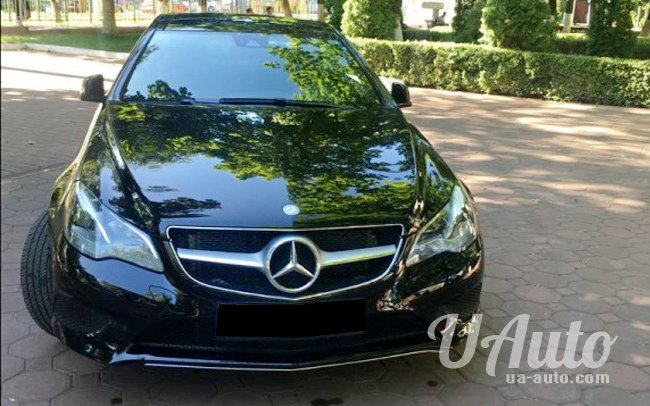 аренда авто Mercedes E400 в Киеве