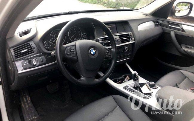 аренда авто BMW X3 в Киеве