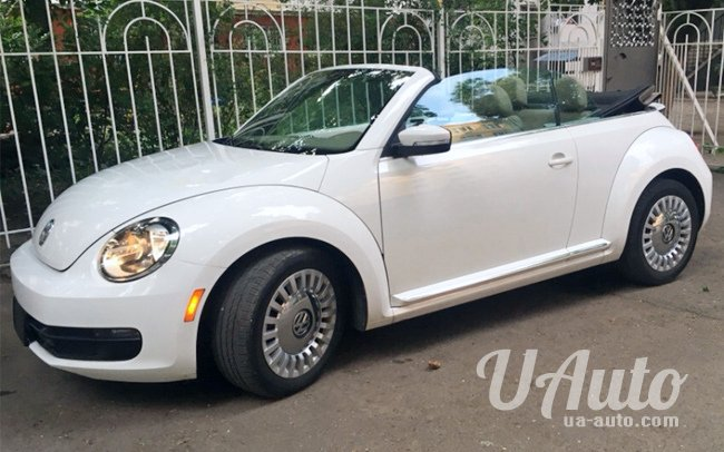 аренда авто Volkswagen New Beetle Кабриолет в Киеве