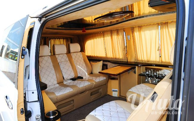 аренда авто Mercedes Vito VIP в Киеве