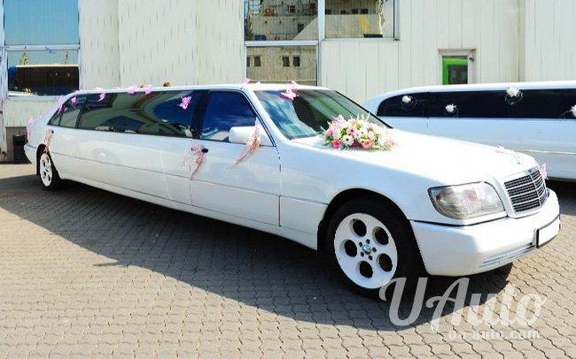 аренда авто Лимузин Mercedes W140 в Киеве