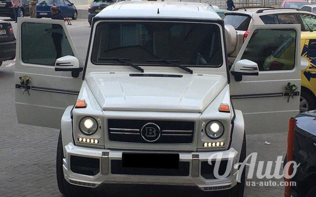 аренда авто Mercedes G-Class Brabus в Киеве