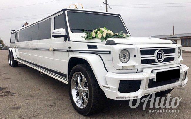 аренда авто Лимузин Mercedes G-Class Brabus в Киеве