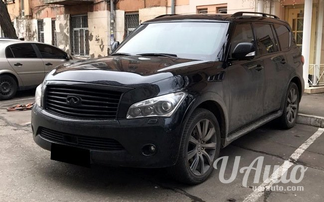 аренда авто Infiniti QX56 в Киеве
