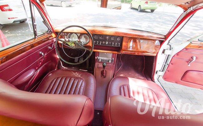аренда авто Ретро Jaguar MK2 1953 год в Киеве